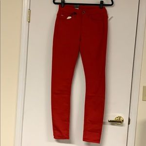 G-Star Raw New Skinny Red Jeans Size 26